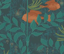 103/4019.CS Nautilus – Dark Green – Cole & Son Wallpaper
