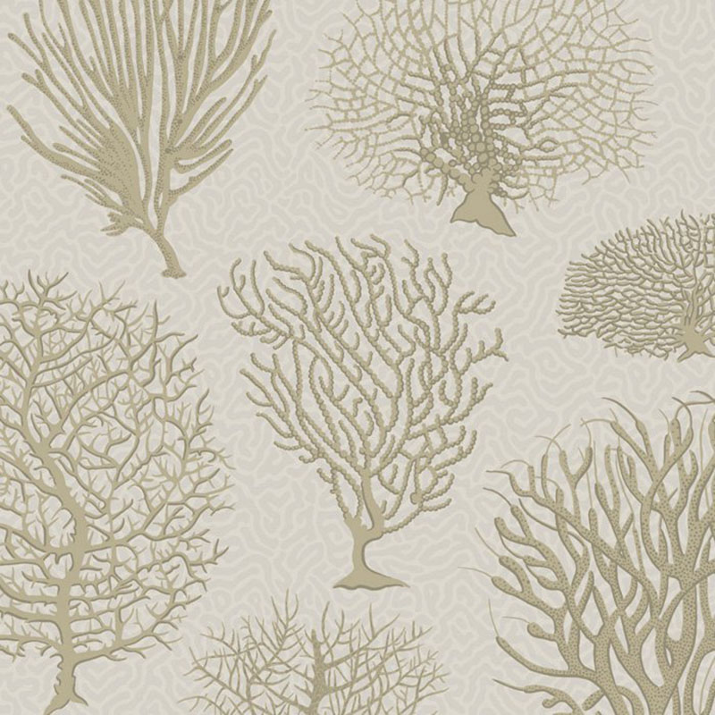 WALLPAPER Gold Seafern By Cole /& Son - Black