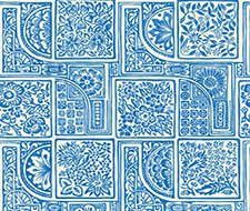 108/9045.CS Bellini – Blue & White – Cole & Son Wallcovering