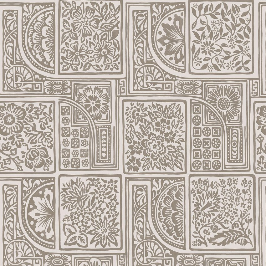 108/9048.CS Bellini - Stone & Gilver - Cole & Son Wallcovering