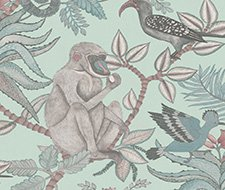 Cole and Son Savuti Duck Egg Wallpaper 109/1004.CS.0
