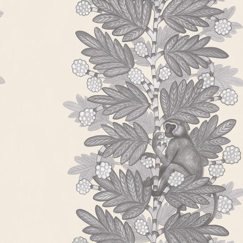 109/11053.CS Acacia - Grey & White - Cole & Son Wallcovering
