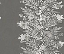 109/11055.CS Acacia – Charcoal & Silver – Cole & Son Wallcovering