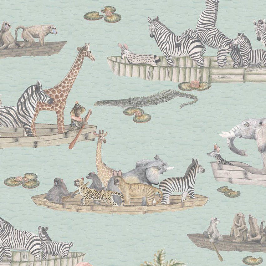 109/14063.CS Zambezi - Multi-Coloured - Cole & Son Wallcovering