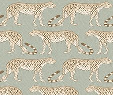 109/2009.CS Leopard Walk – Olive & White – Cole & Son Wallcovering