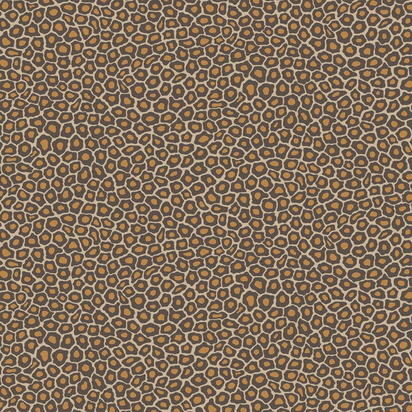 109/6027.CS Senzo Spot - Brown & Gold - Cole & Son Wallcovering