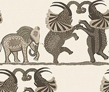 109/8036.CS Safari Dance – Neutral & Charcoal – Cole & Son Wallcovering