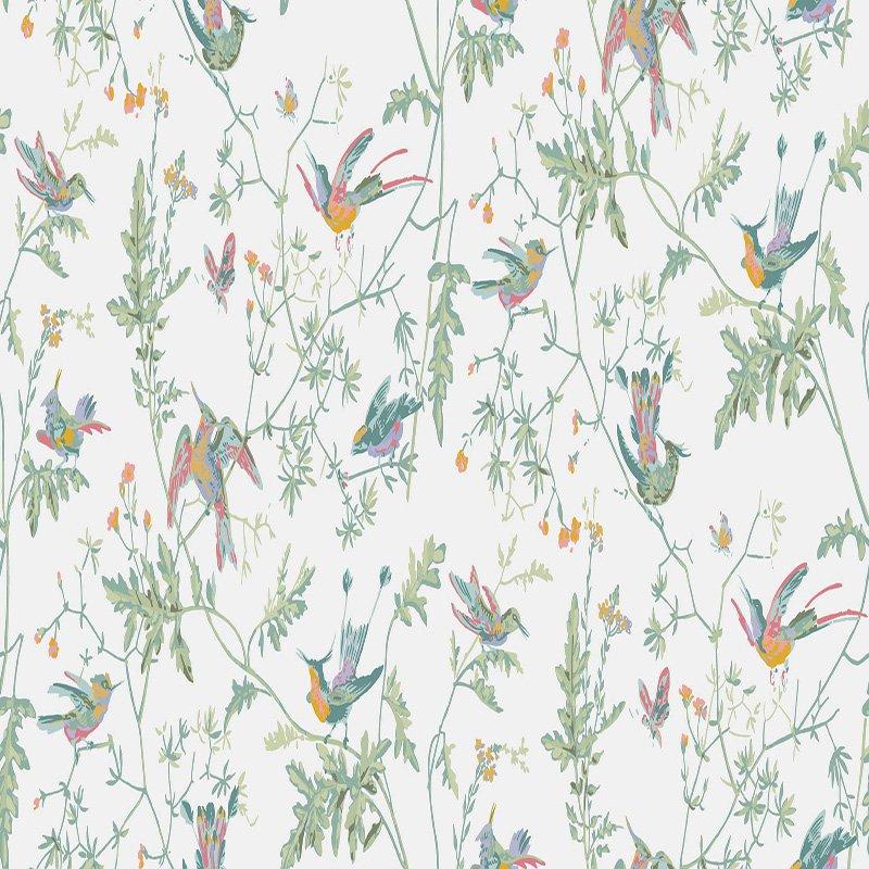 Son Hummingbirds Pastel Wallpaper