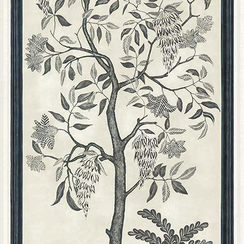 113/14041.CS Trees Of Eden/Eternity - Charcoal & Parchment - Cole & Son Wallcovering