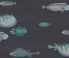 Cole and Son Acquario Ink Wallpaper 114/16032.CS