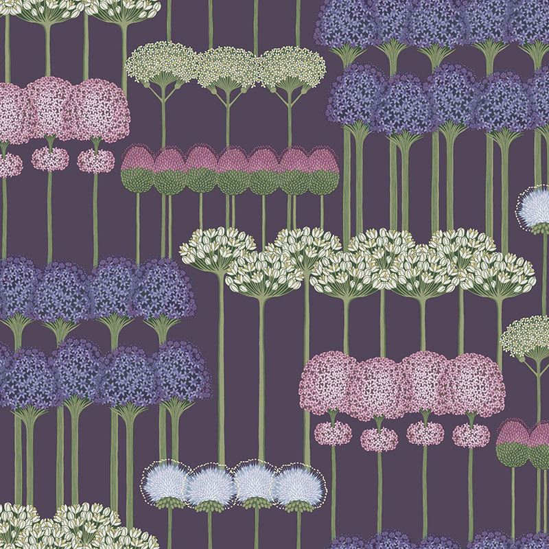 115/12036.CS Allium - Mulb/Heather/Violet - Cole & Son Wallpaper