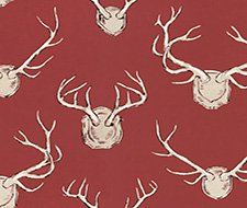 2009143.19 Antlers – Red – 19 – Lee Jofa Fabric