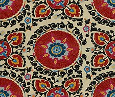 2012151.198 Catalina Suzani – Paprika – 198 – Lee Jofa Fabric