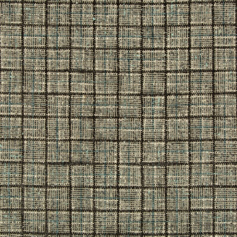 35188.815 Wenthworth Check - Shale - Kravet Couture Fabric