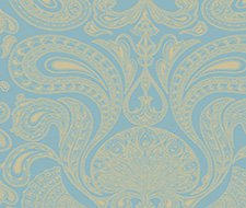 66/1001.CS Malabar – Turquoi – Cole & Son Wallpaper