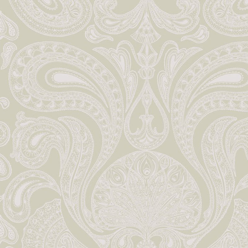 66/1003.CS Malabar - Grey/Si - Cole & Son Wallpaper