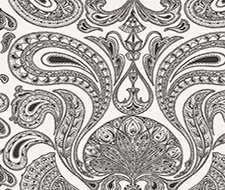 66/1004.CS Malabar – White/B – Cole & Son Wallpaper