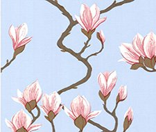 72/3011.CS Magnolia – Pale Blue – Cole & Son Wallpaper