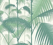 95/1002.CS Palm Jungle – Forest Gre/W – Cole & Son Wallpaper