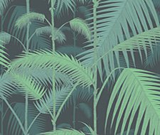 95/1003.CS Palm Jungle – Green/Black – Cole & Son Wallpaper