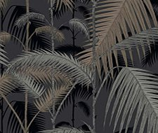 95/1004.CS Palm Jungle – Silver/Black – Cole & Son Wallpaper