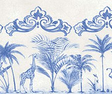 99/10042.CS Rou Border – Cobalt Blue – Cole & Son Wallpaper