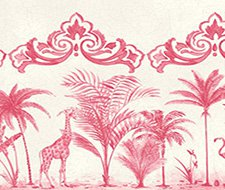 99/10046.CS Rou Border – Rose Pink – Cole & Son Wallpaper
