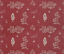Am100318.19.0 Friendly Folk – Huntsman Red – Kravet Couture Fabric