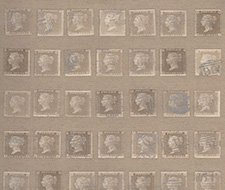 AMW10045.16 Penny Post – Buff – Kravet Couture Wallcovering
