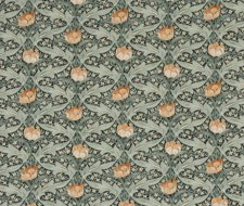 BP10622.3 Tulip & Jasmine – Charcoal/Green – G P & J Baker Fabric