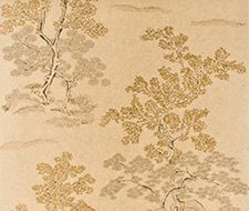 BW45001.4 Oriental Tree Effects – Taupe/Gold – 4 – G P & J Baker Wallpaper