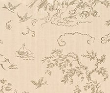 BW45010.5 Chinese Bridges – Taupe/Silver – 5 – G P & J Baker Wallpaper