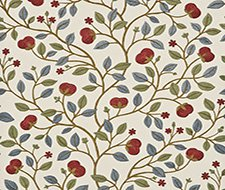 BW45025.4 Medlar – Blue/Red – 4 – G P & J Baker Wallpaper