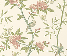 BW45066.8 Peony & Blossom – Vintage – G P & J Baker Wallcovering