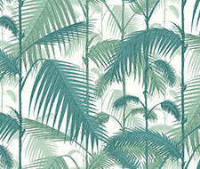 F111/2005.CS Palm Jungle – Petrol & Snow – Cole & Son Fabric