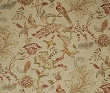 FD241.K101 Early Birds – Natural – K101 – Mulberry Home Fabric