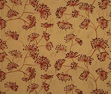 FD622.V102 Meadow Silk – Red/Gold – V102 – Mulberry Home Fabric