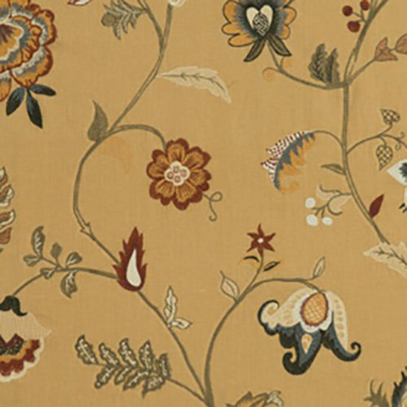 FD709.T30 Elidora - Spice - T30 - Mulberry Home Fabric