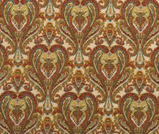 FD728.Y101 Bohemian Paisley – Multi – Mulberry Home Fabric