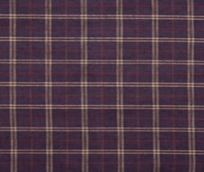 FD744.H113 Haddon Check – Plum – Mulberry Home Fabric