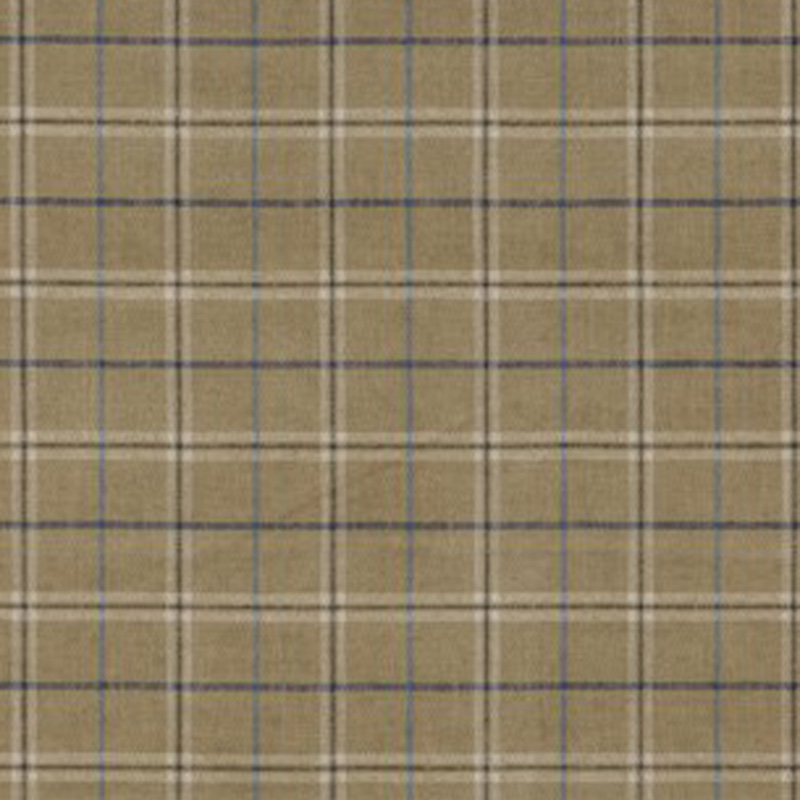 FD744.N102 Haddon Check - Sand - Mulberry Home Fabric