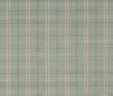FD744.R104 Haddon Check – Aqua – Mulberry Home Fabric