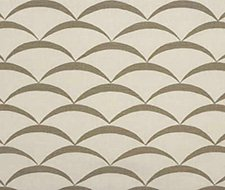 GWF-2618.111 Crescent – White/Taupe – 111 – Groundworks Fabric