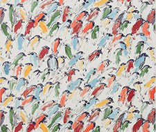 GWP-3412.954 Finches – Multi/Ivory – 954 – Groundworks Wallpaper