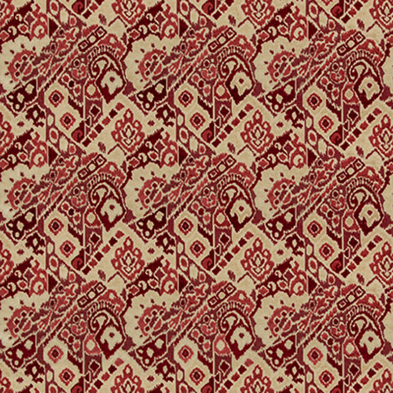8019109.1916.0 Salengro Velvet - Red - Brunschwig & Fils Fabric