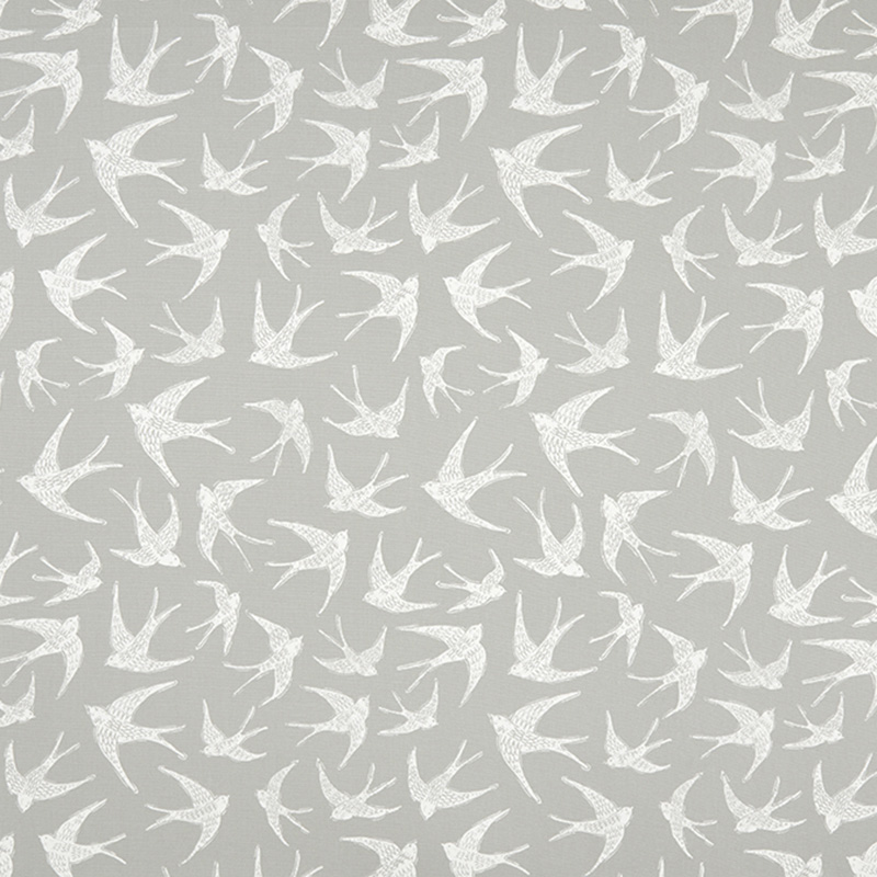 F1187/02.CAC.0 Fly Away - Grey - Clarke & Clarke Fabric
