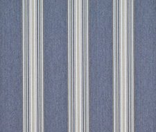 LCF67411F.RL.0 Hook Pond Stripe – Denim – Ralph Lauren Fabric