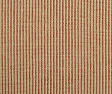 LCF68391F.RL.0 Dillon Ticking – Red – Ralph Lauren Fabric
