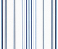 LWP60750W.RL.0 Morgan Stripe – Sky – Ralph Lauren Wallpaper