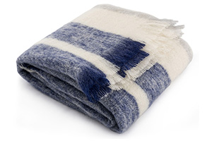 Phila Stripe Mohair Throw